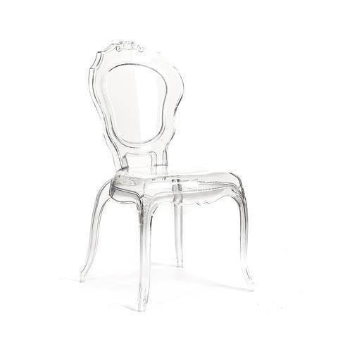 Chaise louis 14 transparante