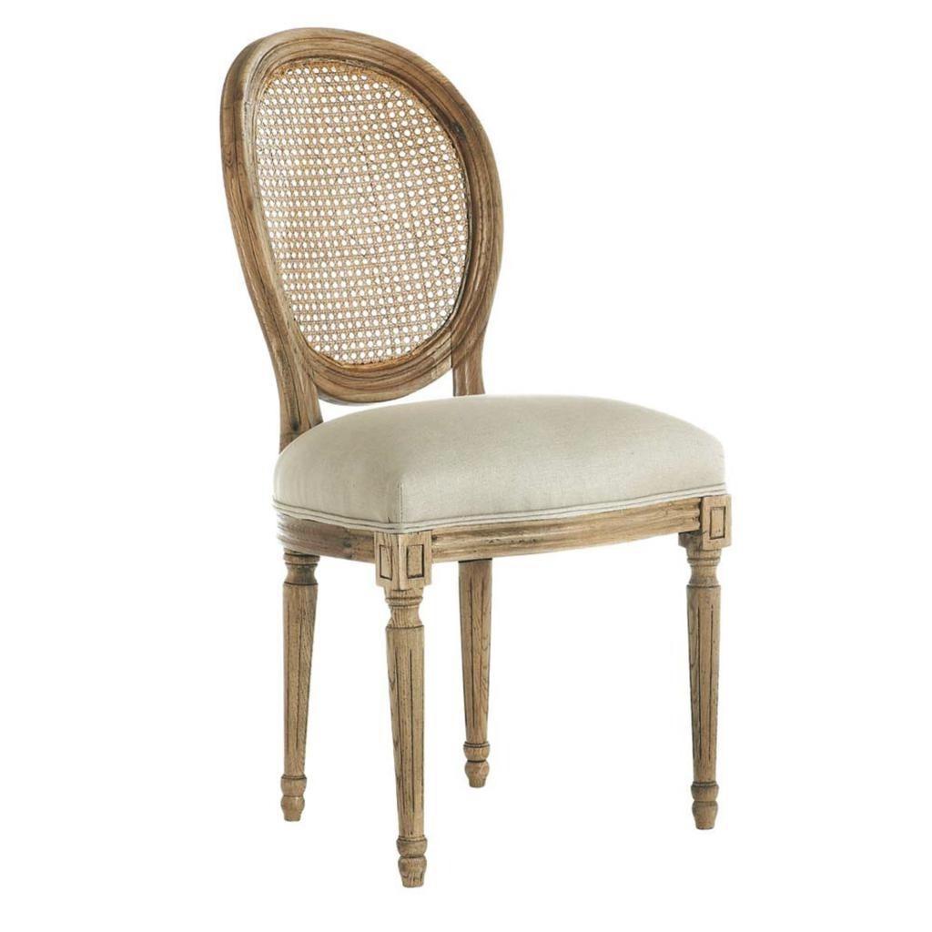 Chaise medaillon rustica