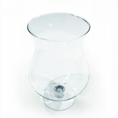 Verre transparent vase cognac